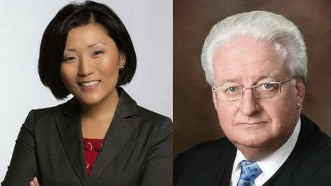 Challenger Aimee Maurer (Left) is looking to unseat Judge Randy Brandt (Right) in the 2014 mid-term elections