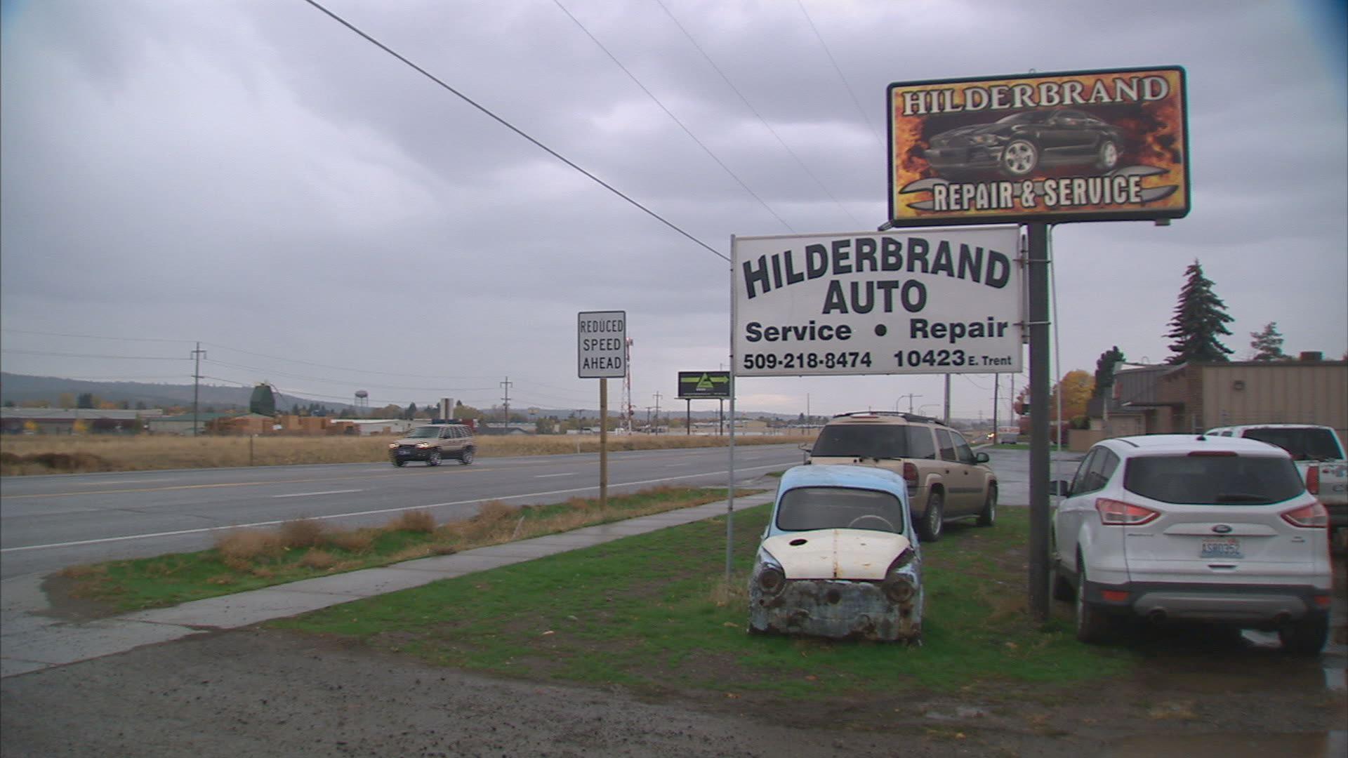 Intruder Leaves Trace in Spokane Valley Auto Shop Break In