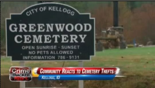 Remains stolen from cemetery
