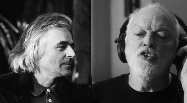 The late Richard Wright (left) and guitarist David Gilmour (right) from the Louder Than Words promo video (PHOTO/VIDEO COURTESY: Youtube/Pink Floyd)