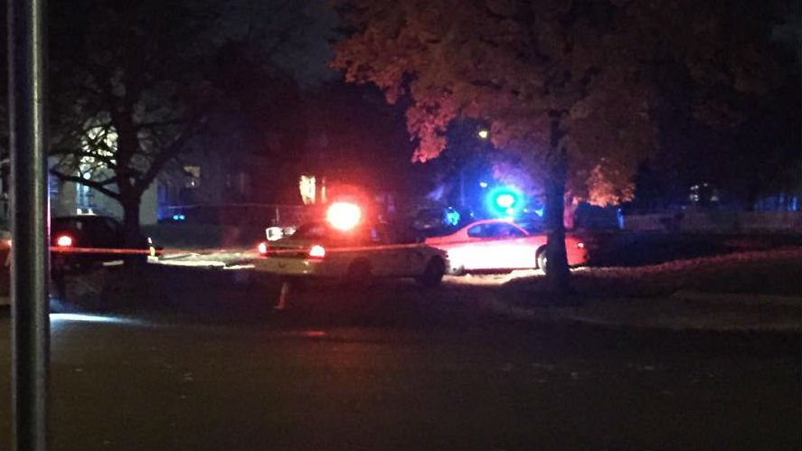 Spokane Police shot a man following a pursuit Saturday night in north Spokane near Post and Montgomery.