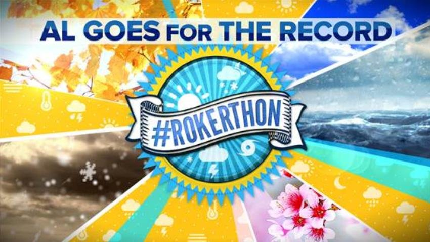 Al Roker will attempt to breakt the Guinness World Record for the longest uninterrupted live weather forecast.