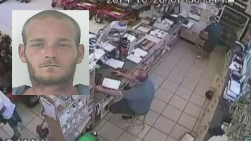 This man was captured on video shoving an unusual item down his pants in a horrible attempt at shoplifting.