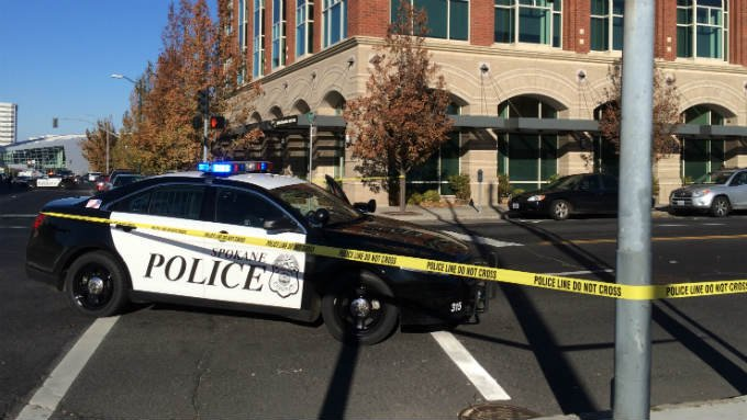 Spokane Police are investigating a hit and run that happened near Sprague and Browne Friday afternoon.