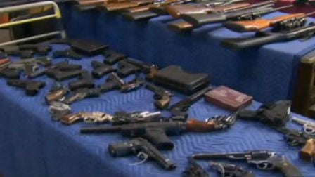 Thousands of guns are going up for auction in Post Falls