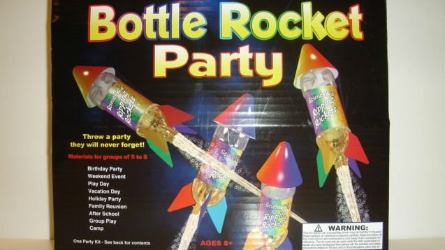 Bottle Rocket Party made the list of 10 worst toys this season according to consumer group W.A.T.C.H.