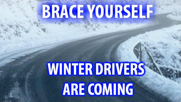 Stay safe out on the slick roads this year everyone!