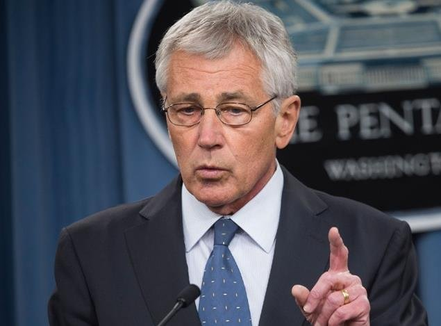 Defense Secretary Chuck Hagel is resigning from President Barack Obama's Cabinet.
