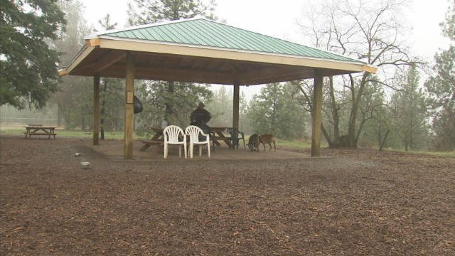 Thanksgiving is all about giving back, and one local 17-year-old spent the last year doing just that: building a pavilion for the SpokAnimal Dog Park.