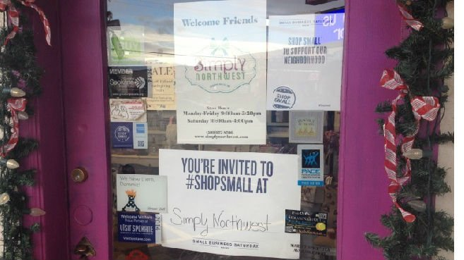 Local businesses are hoping you saved some Black Friday money to shop small.