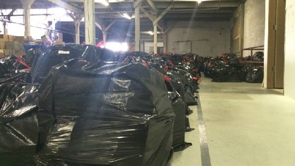 Toys for Tots will begin handing out toys Monday.