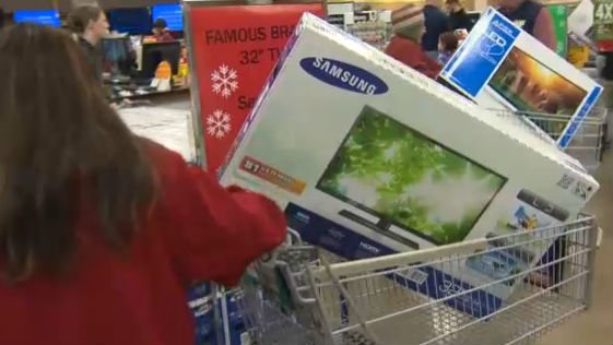 A national survey released Sunday shows Black Friday may be losing its mojo. Photo: NBC