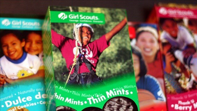 For the first time since sales began nearly 100 years, Girl Scouts of the USA will allow its young go-getters to push their wares using a mobile app or personalized websites. (Cropped Photo: Marit & Toomas Hinnosaar / Flickr  / MGN)