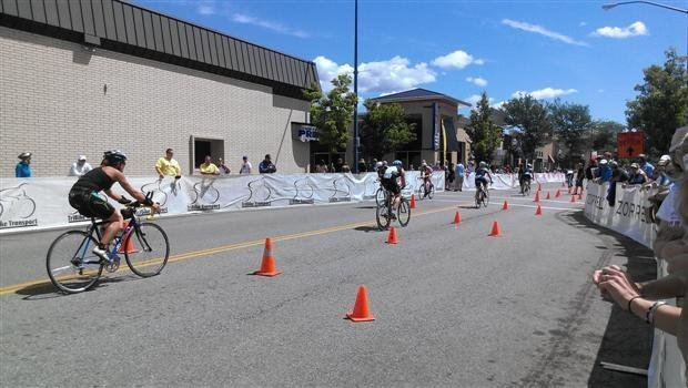 A scene from the 2013 Ironman competition in Coeur d'Alene.
