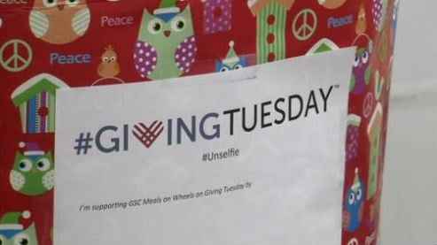 Giving Tuesday is the day that askes people to donate to a good cause.