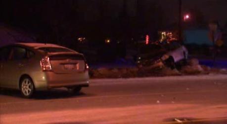 2 vehicle crash in Spokane Valley