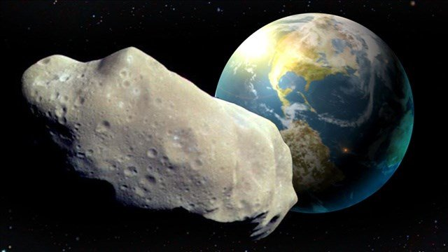 NASA says a newly spotted 1,300-foot wide asteroid is not a threat to hit Earth, despite recent media reports.