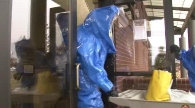Crews do hazmat training in Airway Heights
