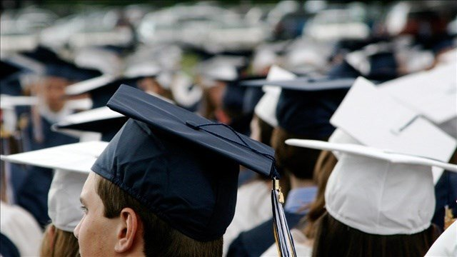 High school graduation rates have soared to 83 percent in Spokane, thanks to some strong efforts in recent years. PHOTO: Jessie Jacobson @ Flickr / MGN