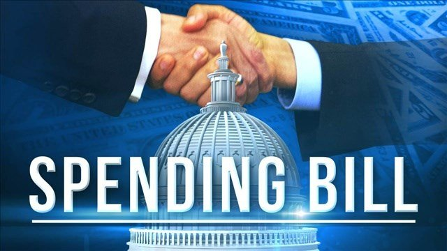 Congress has sent President Barack Obama a short-term spending bill that will keep the federal government operating through Wednesday.