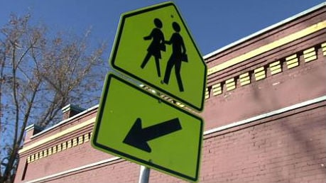 Citation issued to motorist after girl hit in school zone