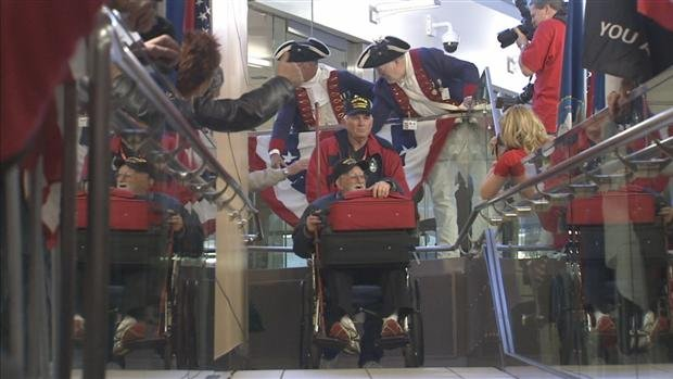 Mystery donaction of $75,000 to Honor Flight