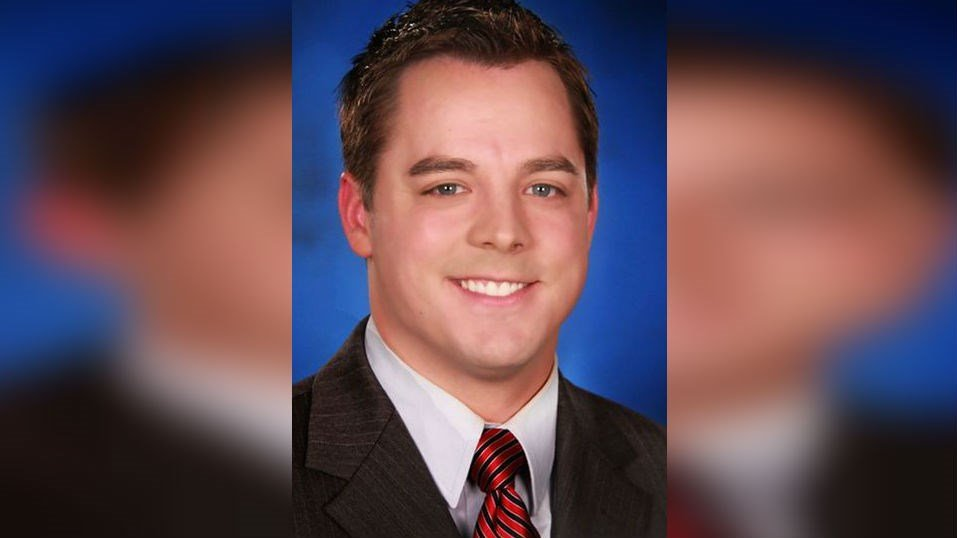 Patrick Crawford presented the Monday morning forecast at KCEN.