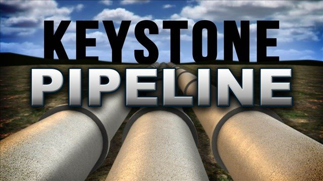 """Obama said the Keystone Pipeline is """"not even a nominal benefit to U.S. consumers."""""""