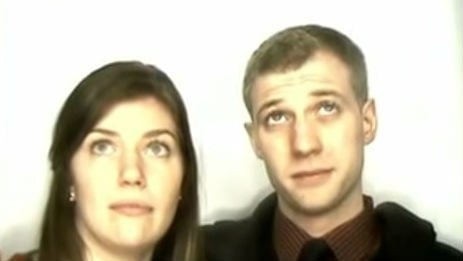 This guy's photo booth proposal video has over 2 million views on YouTube. Photo: YouTube.com/user/kmoran1818