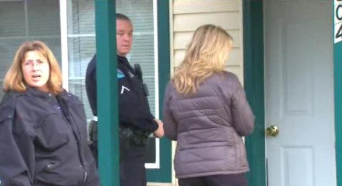 Post Falls Police spread holiday cheer