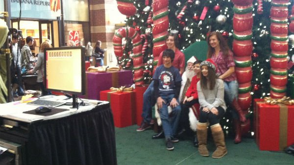 Kris Kringle, Father Christmas, Saint Nicholas. Whatever name you have for him, Santa Claus was in Spokane Wednesday.