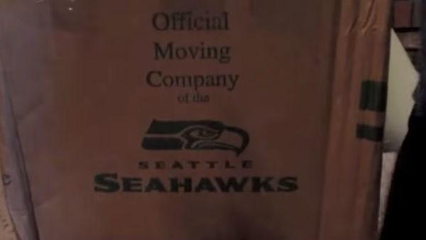 Alex Hughes got a mystery box in the mail. Photo:Youtube/youcancallmealex