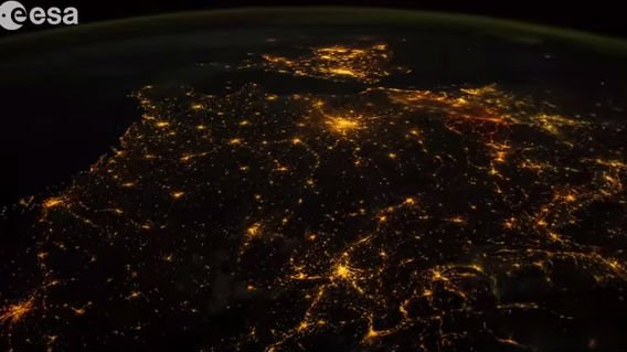 Alexander Gerst's Earth timelapse video is gorgeous.