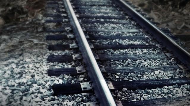 An unidentified female walking on BNSF railroad tracks in Spokane was killed after she was struck by a train.