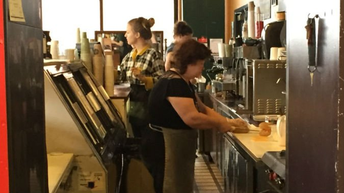 Employees at Rocket Bakery say every penny counts when making minimum wage.