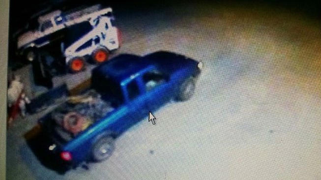 The mayor of Osburn, Idaho, is looking for this truck.