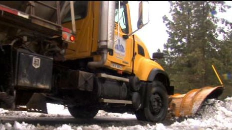 Some Spokane County plow workers are on 12-hour shifts to clean up after snowfall.