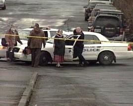 Scene of the February shooting