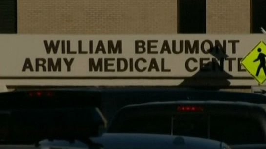 Officials say a gunman opened fire at a veterans' clinic in West Texas.