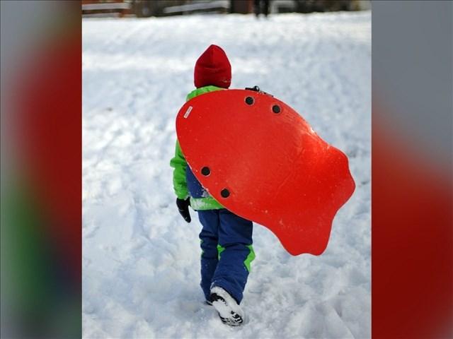 Sledding ban freezes winter fun.