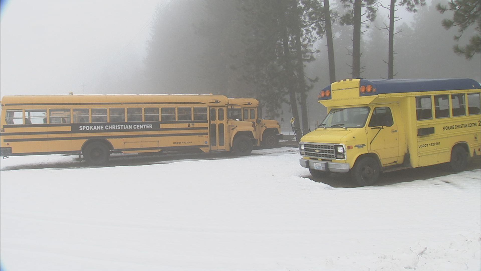 Spokane Church Reports Stolen Bus Batteries