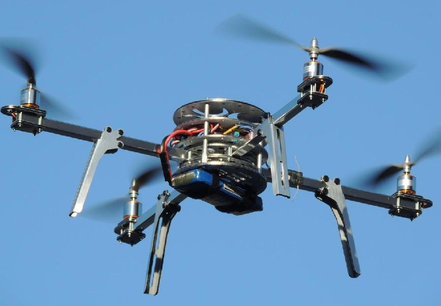 Example of a quadcopter