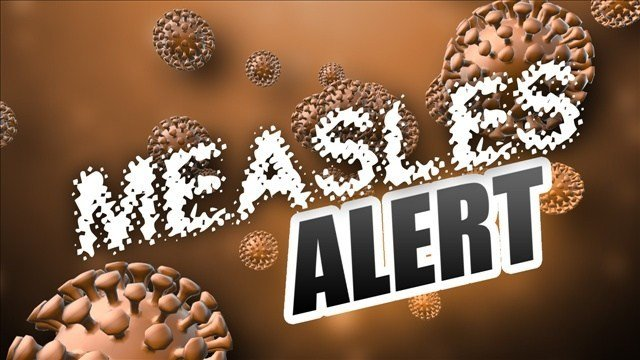 People in Sea-Tac Airport may have been exposed to Measles.