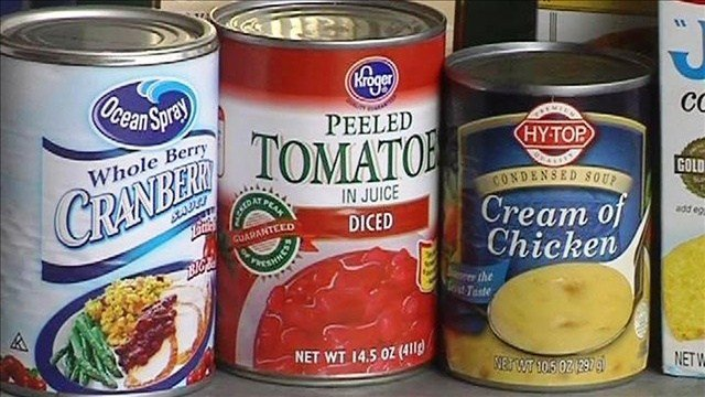 An Alabama school principal wants kids to use canned food to protect themselves.