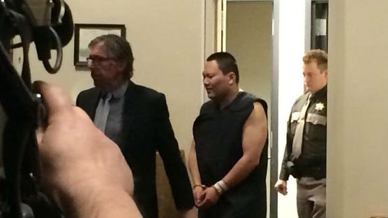 John Lee made his first appearance in court Friday.