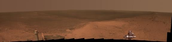 The full panoramic view taken from Cape Tribulation. Photo: NASA/JPL