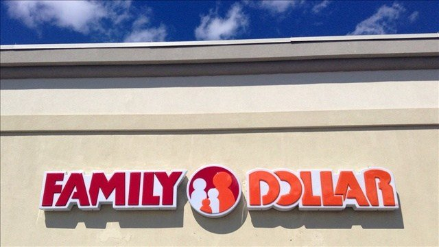A man's plan to break into a Family Dollar didn't work out when he fell through the roof.