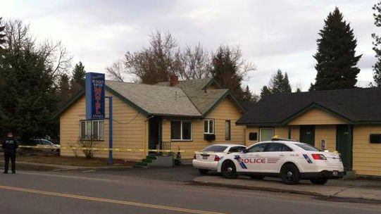 Coeur d'Alene Police say they found a device in a room of the Budget Saver Motel.