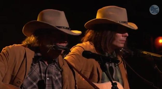 "Neil Young joins ""Neil Young"" on The Tonight Show Starring Jimmy Fallon"