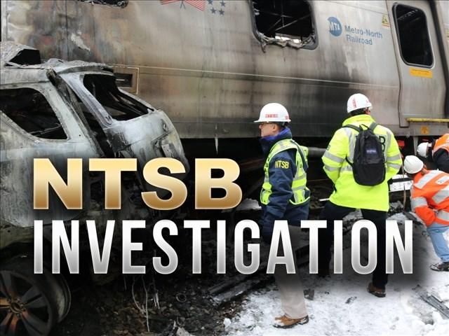 NTSB investigates train crash in NY